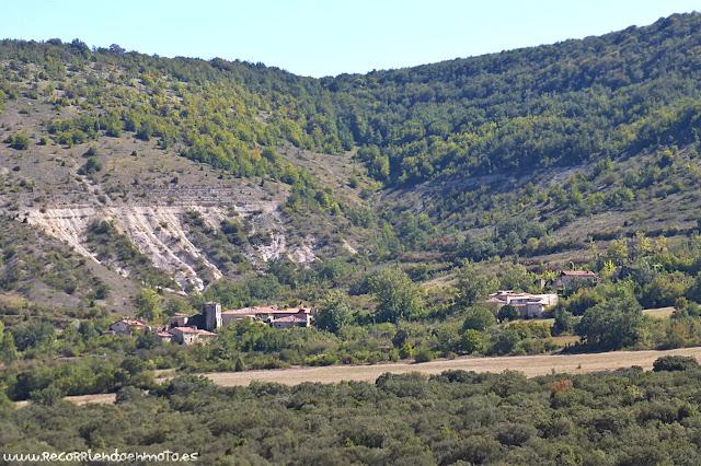 Cortiguera desde el Mirador del Cañón del Ebro