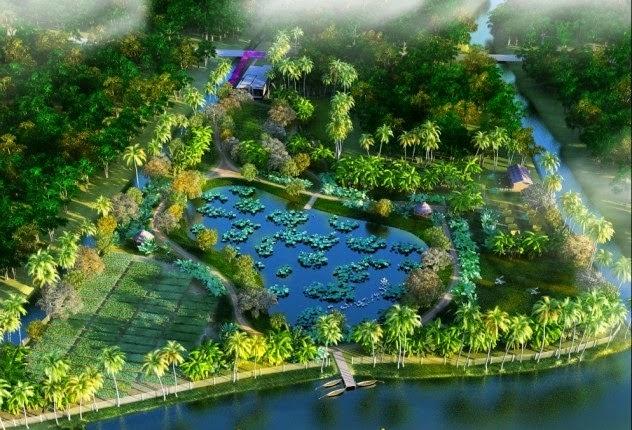 Villa ven sông