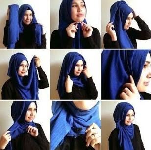 Koleksi Tutorial Hijab Pashmina Casual