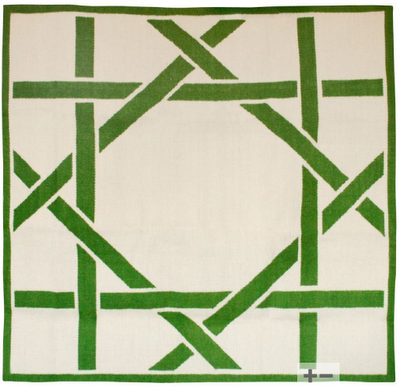 Haymarket Designs Green With Trellis Envy