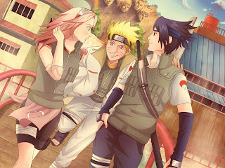 Naruto 628-three in one