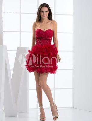 Elégant Mini Bourgogne Tulle Womens sweetheart robe de retour