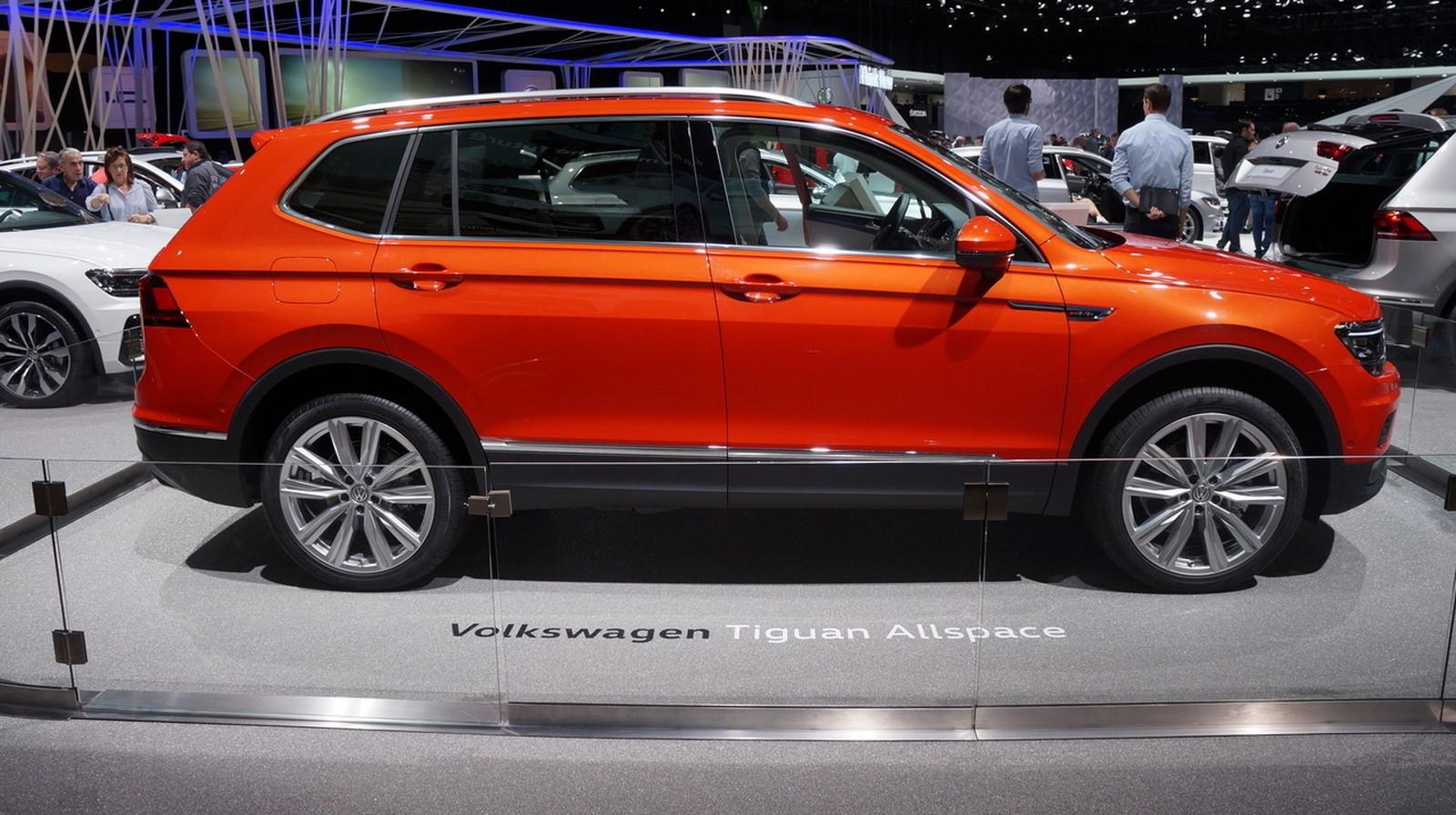 VW Tiguan II Allspace