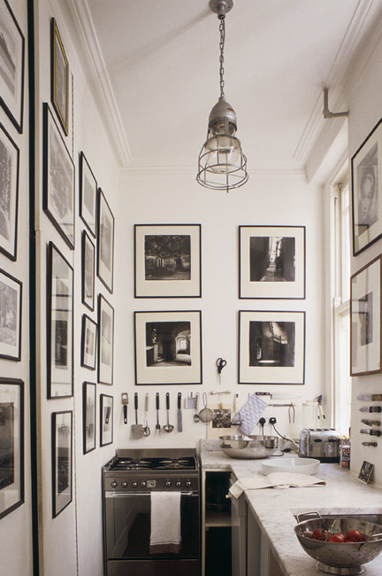 Black And White Photos, Traditional, Industrial, Masculine Kitchen