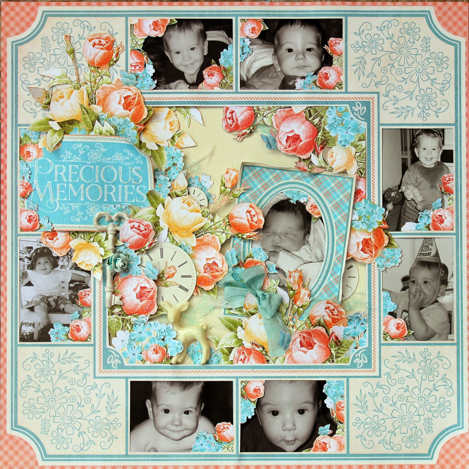 Tina Marie Forever And Always Precious Memories The Scrapbook