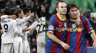Real Madrid y Barcelona Copa del Rey 2013