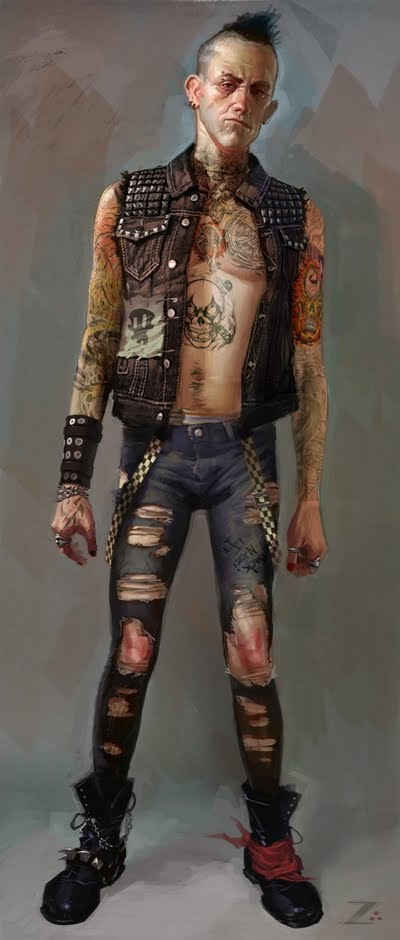 Character Art Izzy Medrano