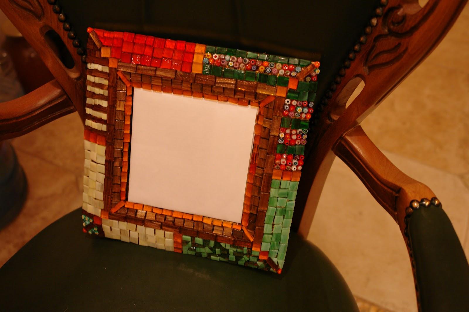 Рамка для из мозаики своими руками