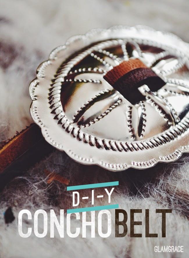 Diy Concho Belt - southwest style