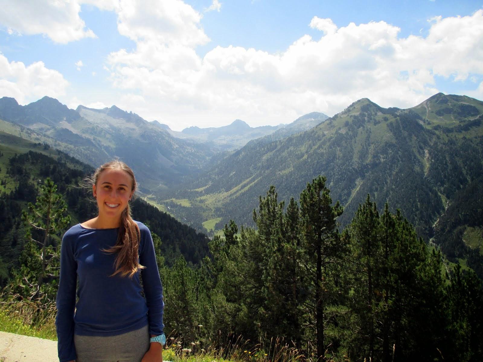 Persigo la felicidad y la montaña responde a mi búsqueda.