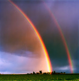 But, rainbows..or two..are powerful