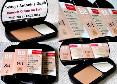 testuj z Antoniną Guzik Bourjois Cream BB 8w1