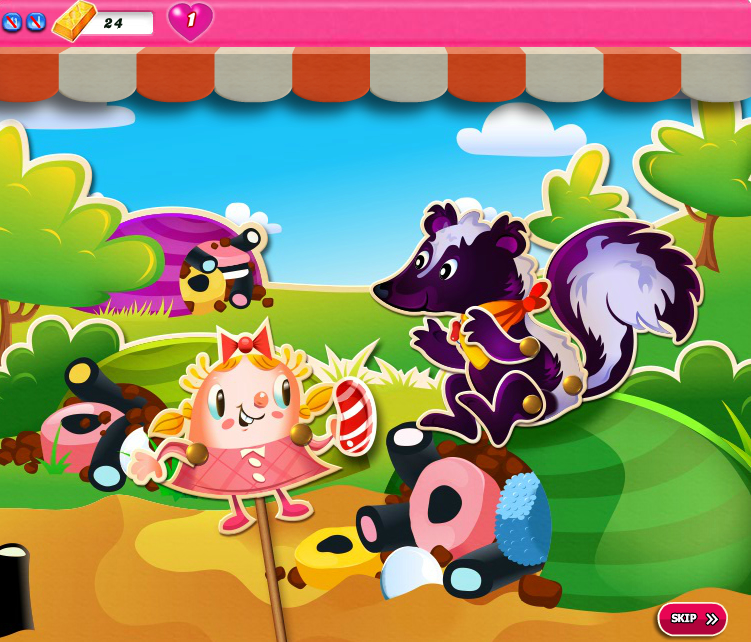 Candy Crush Saga 1356-1370
