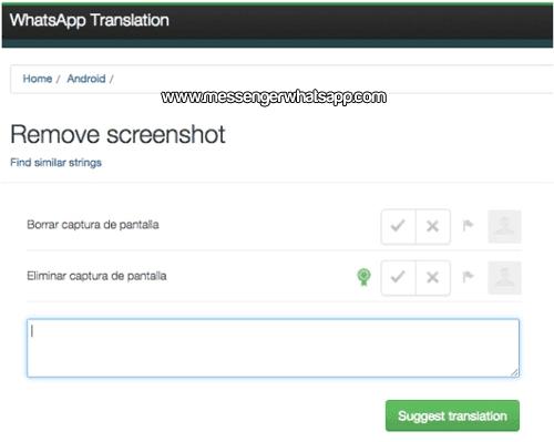 WhatsApp incluira una funcion para tomar capturas a tus conversaciones