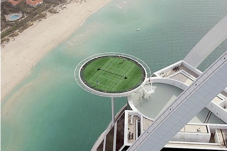 Το ψηλότερο γήπεδο τένις στον κόσμο!