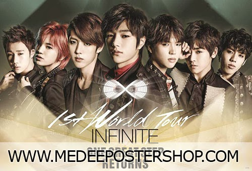 Infinite One Great Step Return Poster