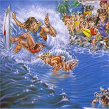 1982 Stubbies Surf Classic Burleigh