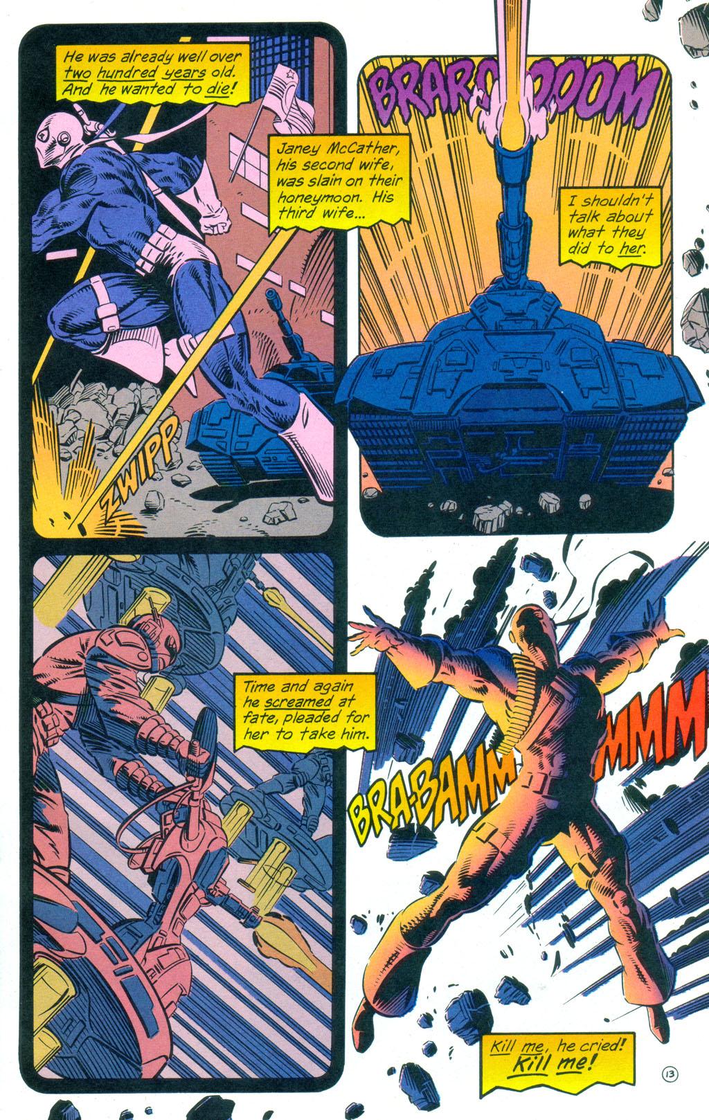 Deathstroke (1991) Annual 3 #3 - English 14