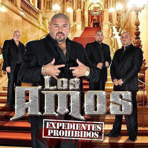 Los Amos De Nuevo León - Los Expedientes Prohibidos CD Album 2011