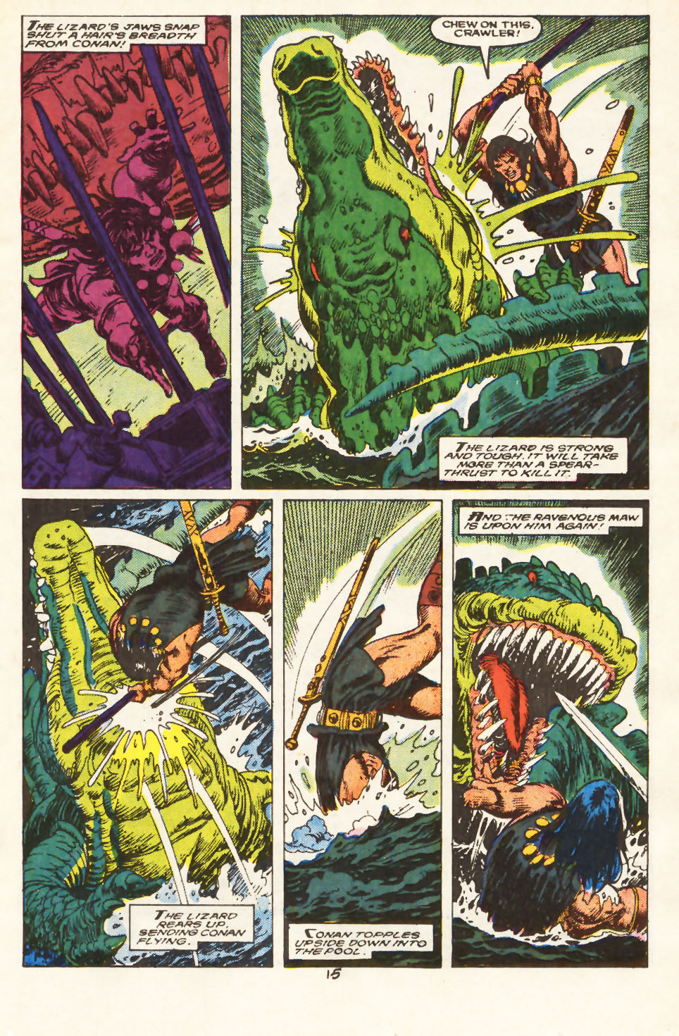 Conan the Barbarian (1970) Issue #217 #229 - English 12
