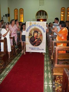 4ª NOITE DE NOVENA EM HONRA AO SAGRADO CORAÇÃO DE JESUS