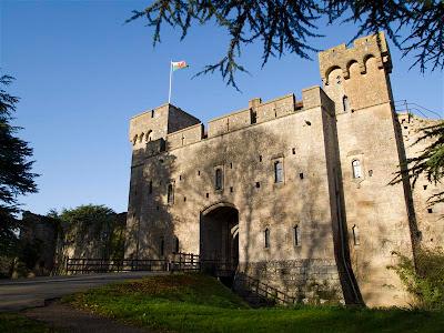 Castillo de Caldicot (Gales)