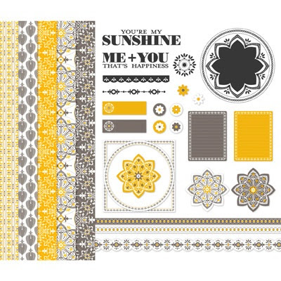 Stampin' Up! You're My Sunshine Digital Crafting Kit