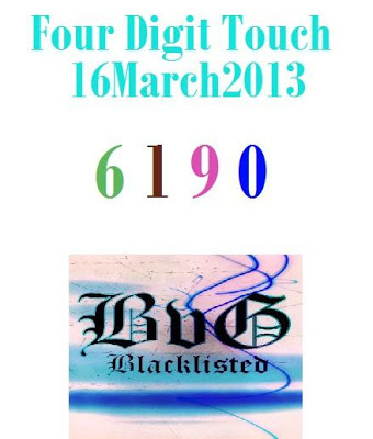 Best Four Digit Touch 16 March 2013