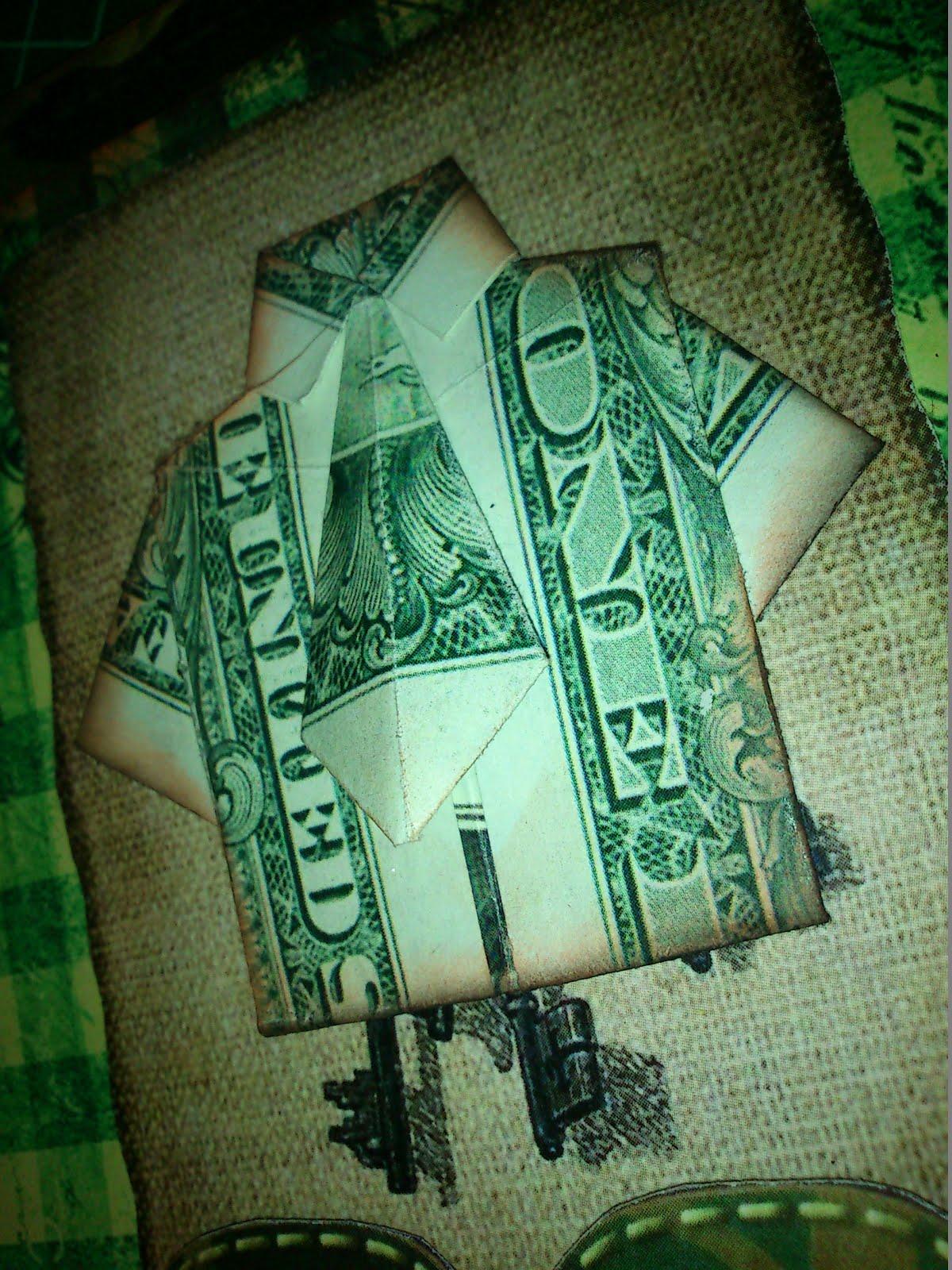 Как сделать рубашку из доллара своими руками 71