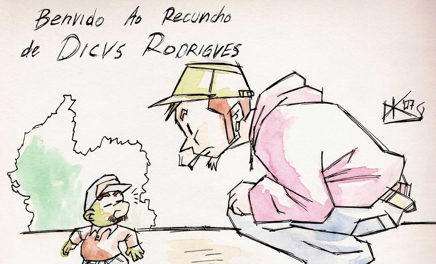 Benvido Ao Recuncho De Dicvs Rodrigves
