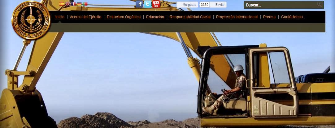Ascensos FFAA 2014 Ejercito Peruano, en el mes de Noviembre 2013