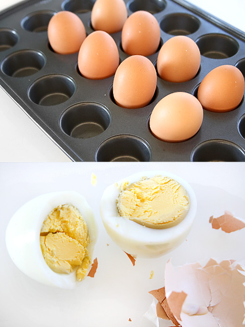 Baking Hard Boiled Eggs – A Pinterest Test
