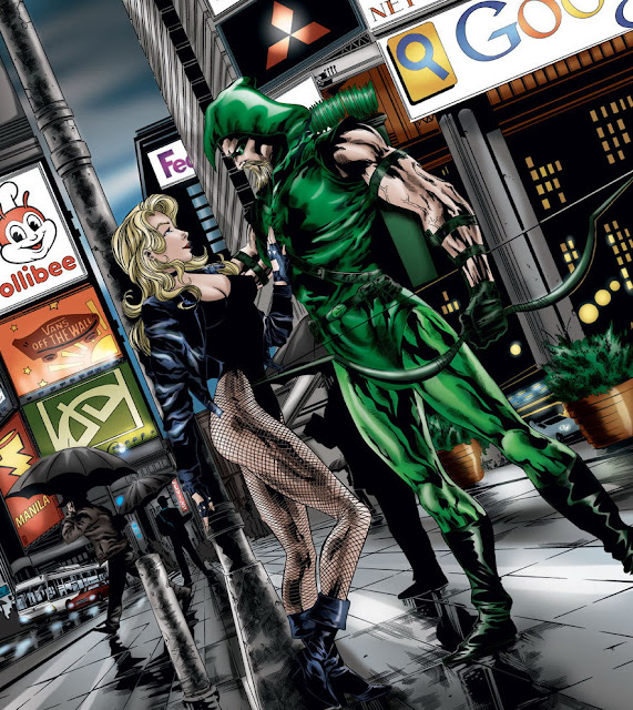 Black Canary (DC Comics) Character Review - With Green Arrow