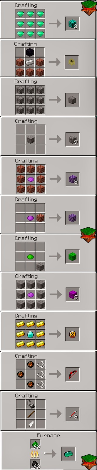 Essence of the Gods Mod Craftings