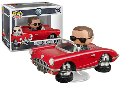Marvel's Agents of S.H.I.E.L.D. Director Phil Coulson Pop! Vinyl Figure with Lola Pop! Ride Vehicle by Funko