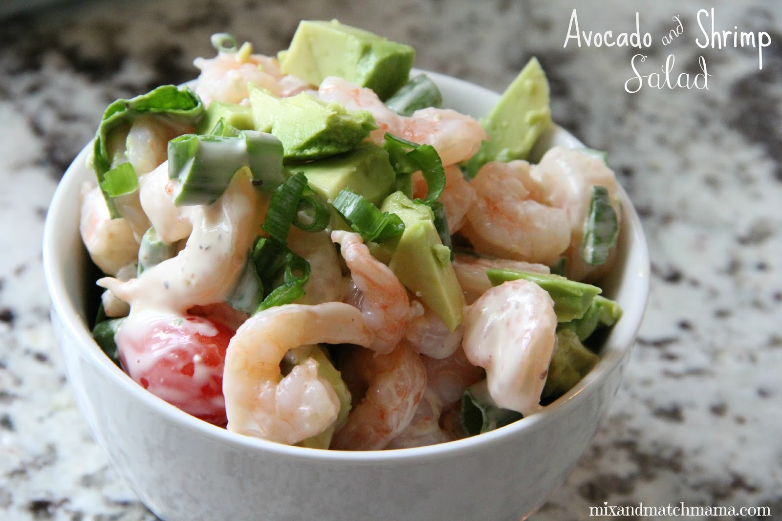 ... shrimp for lunch shrimp is just so easy to throw into a pasta or salad