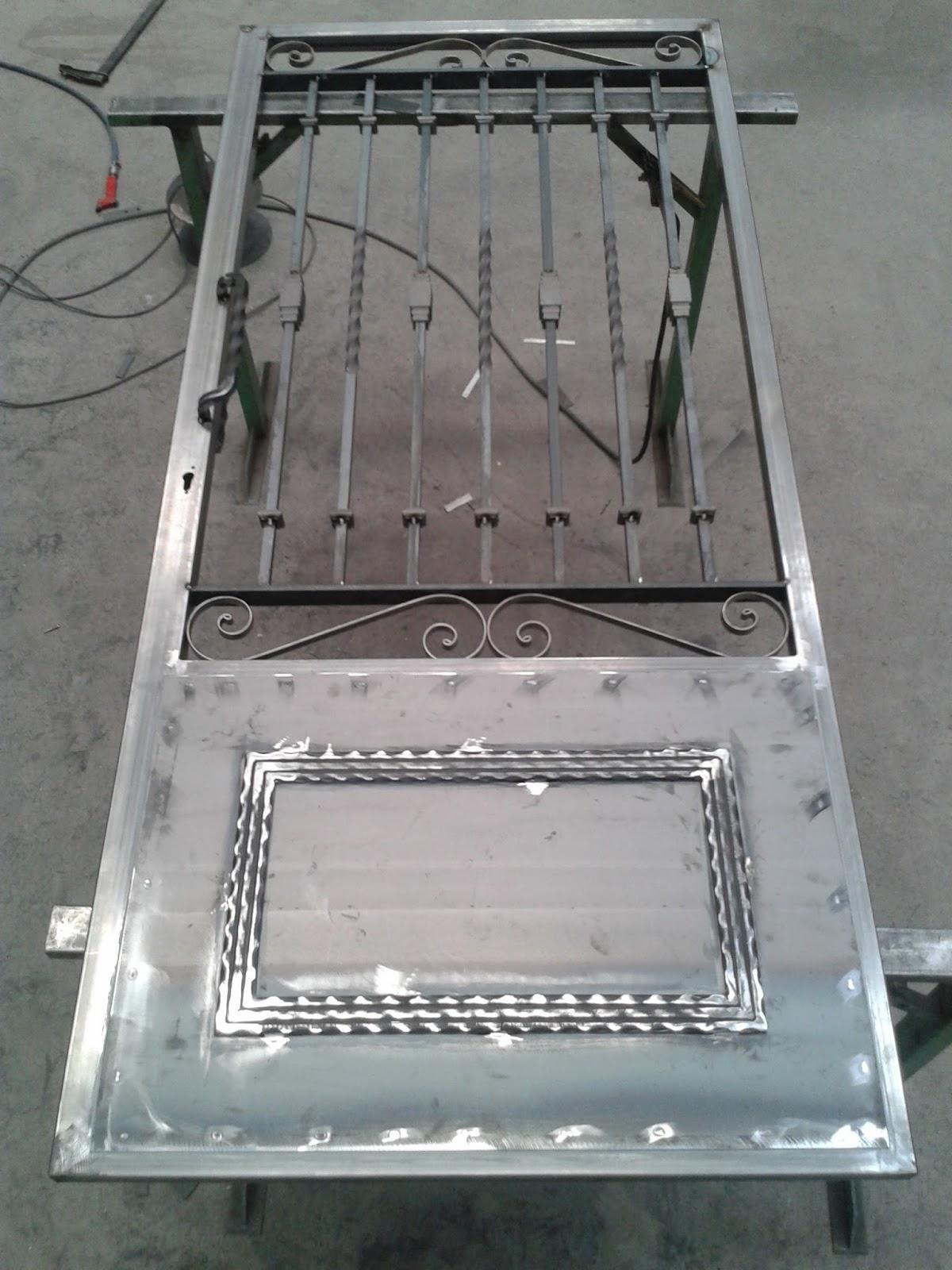 Metalicas anugar s c puertas modelos varios for Modelos de puertas de metal