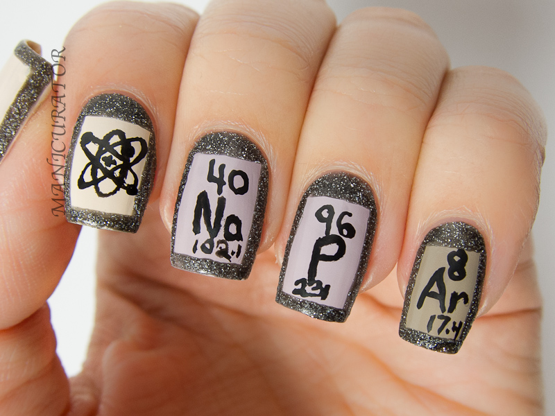 manicurator: Digit-al Dozen September Spectacular Geek Nail Art with ...