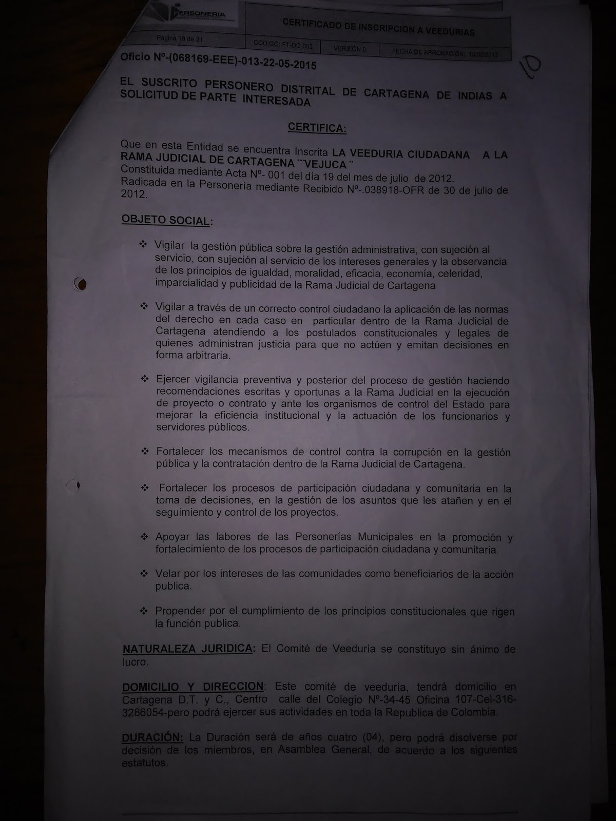Impugnaci n y solicitud de nulidad fallo de tutela