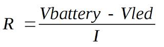 Rumus Menghitung Resistor Untuk LED