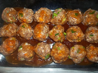 Spicy Sweet-n-Sour Meatballs from Adventures in Life with Great Food