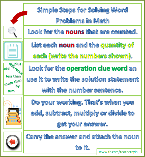 Math problem answers with steps