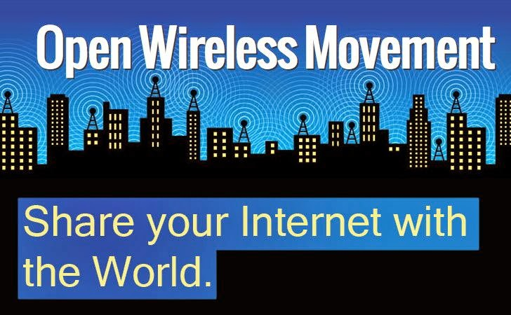 Open Wireless Router Let You Share Your Internet with the World