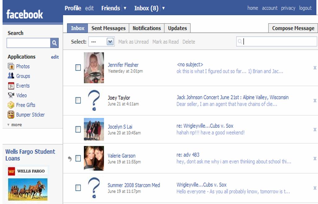 Open My Inbox Facebook Bing Images