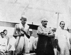 "Today on 9th August 1942 ""Quit India"" Movement started"