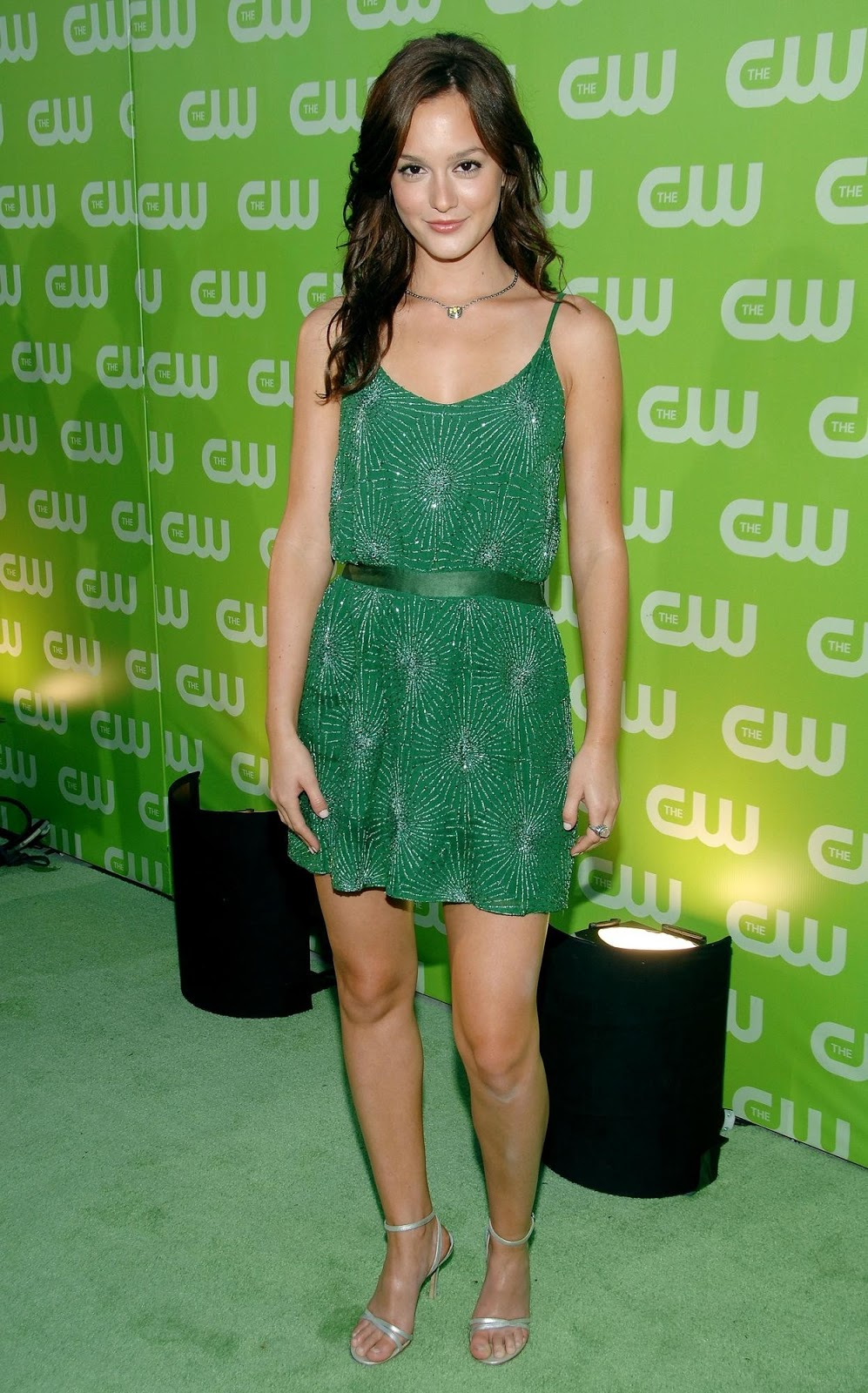 red carpet dresses leighton meester cw tca party 2007
