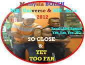 SAZALI SAMAD BERJAYA SEBAGAI MR ASIA 8KALI DAN MR UNIVERSE 2012. SEBILION TERIMA KASIH 1 MALAYSIA