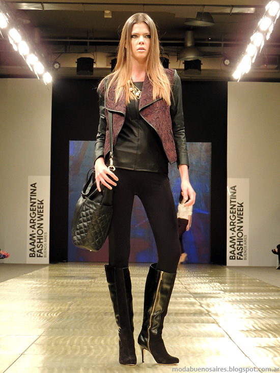 Camperas de moda invierno 2014 Markova