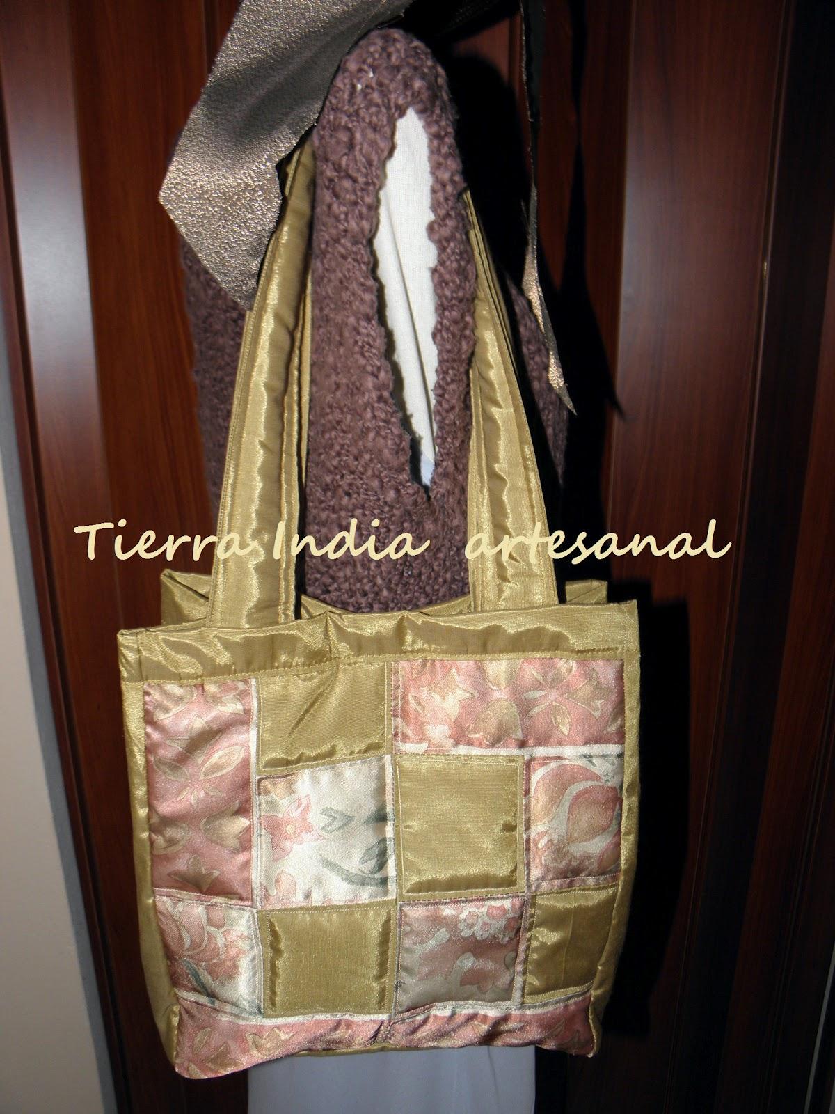 Tierra india bolso de estilo patchwork - Estilo patchwork ...