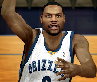 NBA 2K14 Tony Allen Cyberface Mod